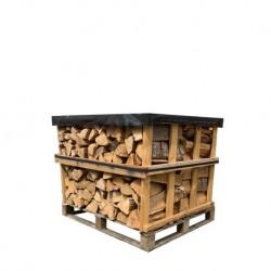 Palette Bois de chauffage 33 cm (600kg) de bûches sèches
