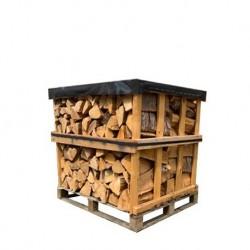 Palette Bois de chauffage 25 cm (800kg) de bûches sèches